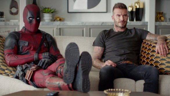 Deadpool le pide perdón a David Beckham