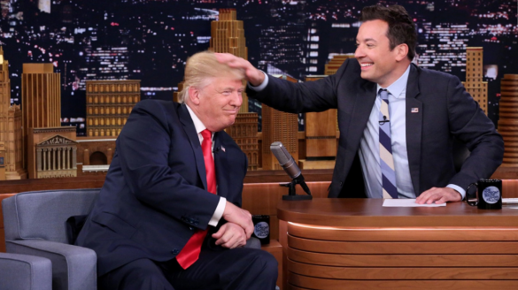 Jimmy Fallon responde ataque de Donald Trump
