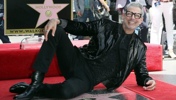Jeff Goldblum recibe estrella en el paseo de la fama de Hollywood