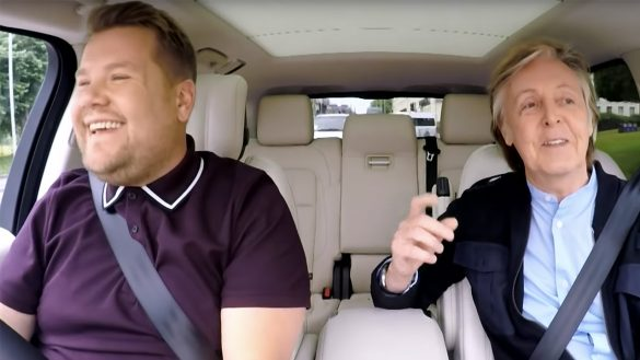 Paul McCartney se subió al 'Carpool Karaoke'