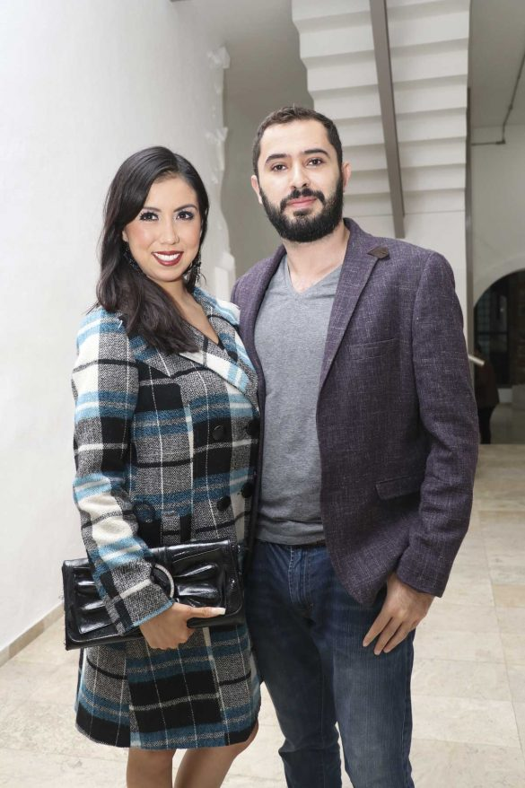 Andrea Juárez y Christian Gallo.