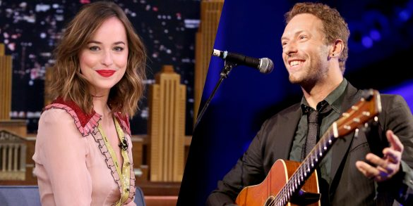Inician rumores del posible embarazo de Dakota Johnson y Chris Martin