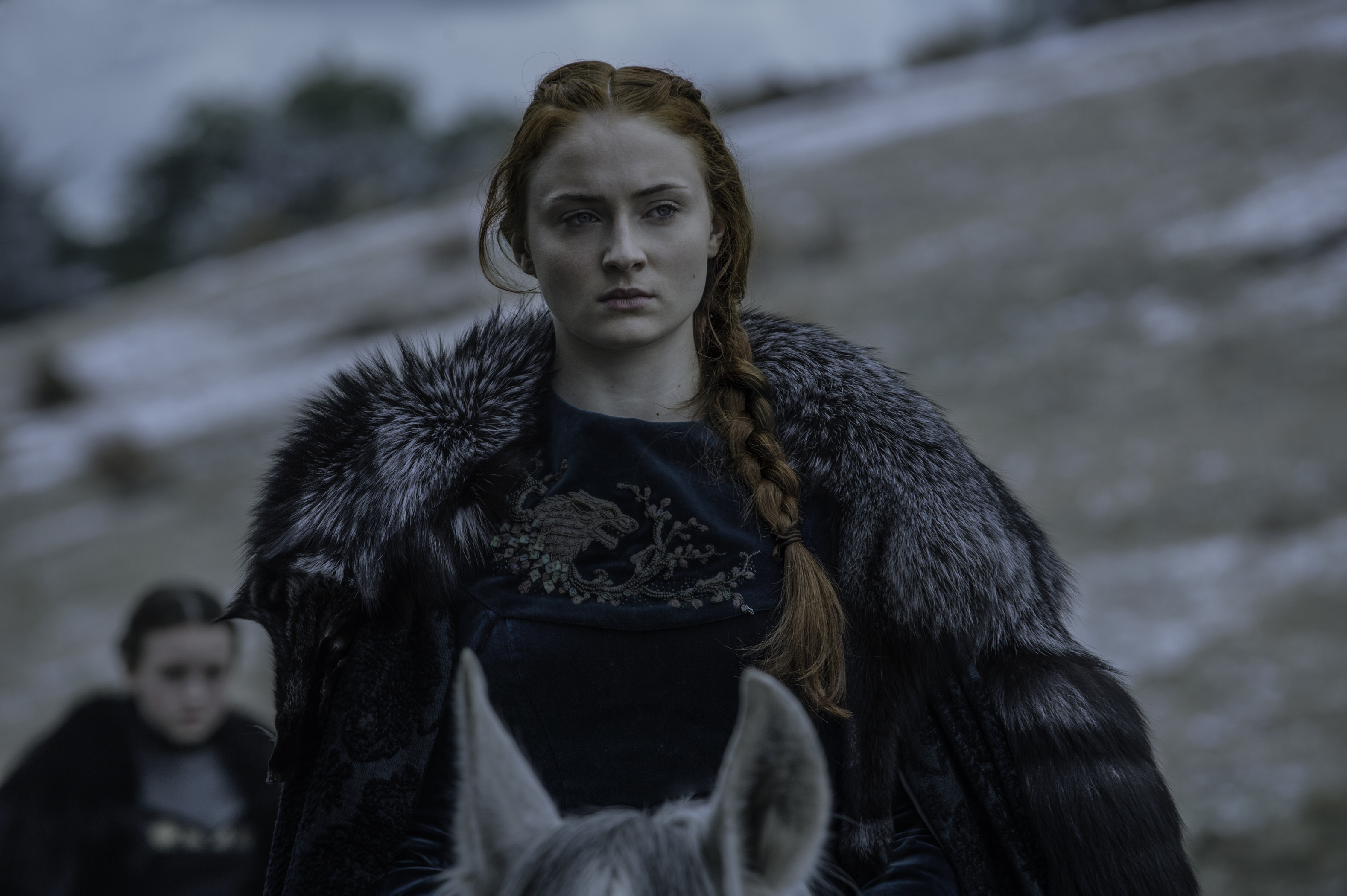 "Sophie Turner revela a algunas personas el final de ""Game of Thrones"""