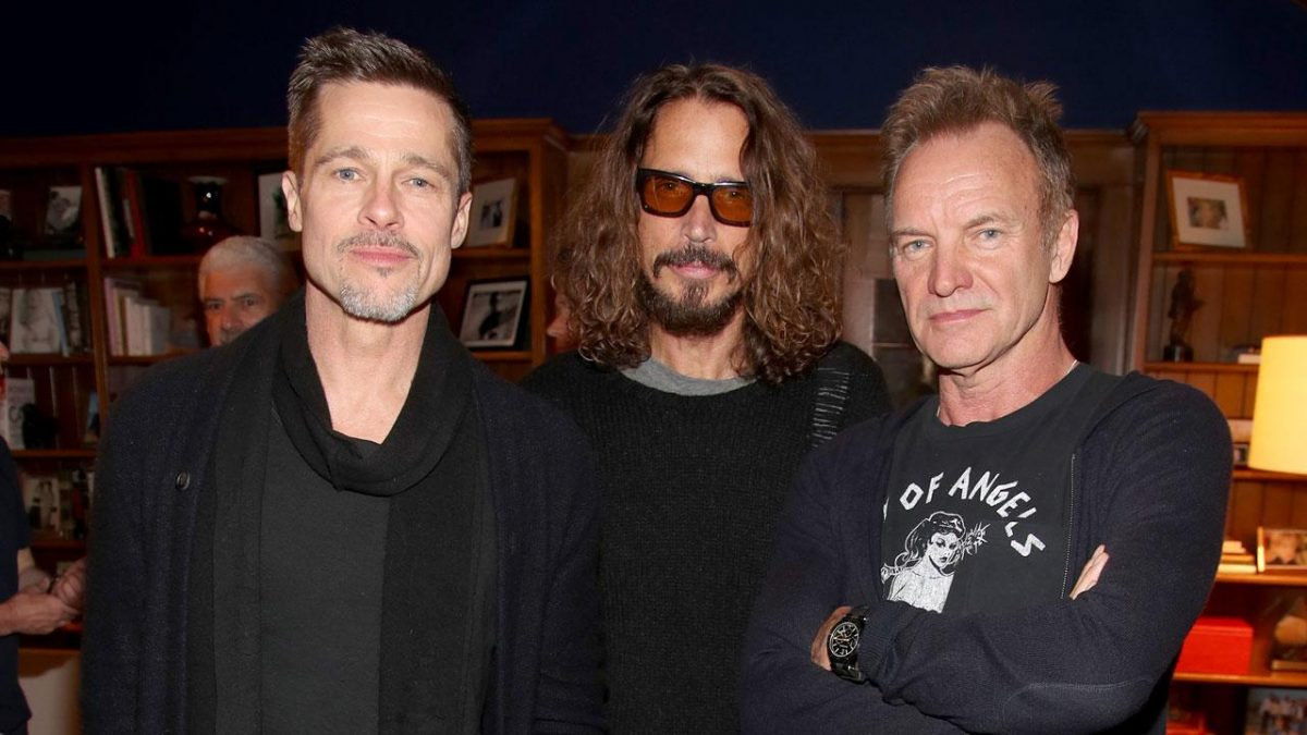 Brad Pitt será el productor de un documental basado en Chris Cornell