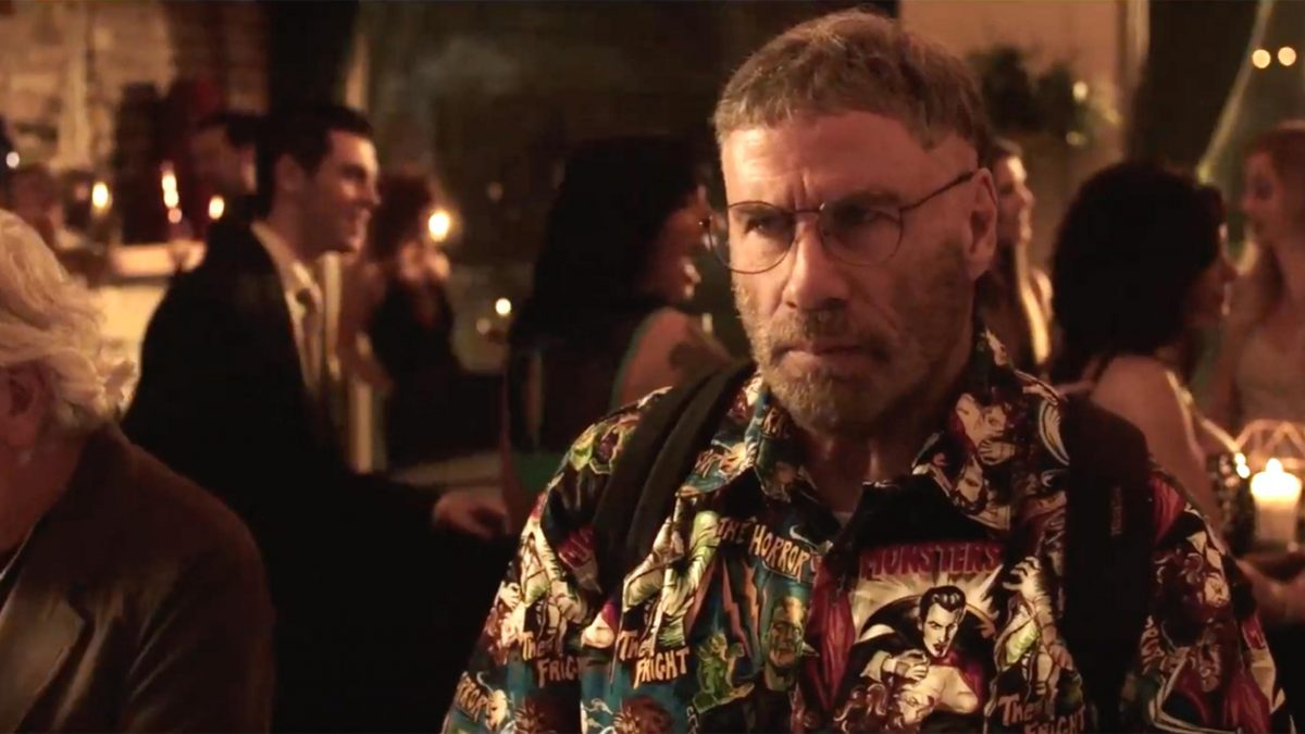 Fred Durst presento el trailer de The fanatic con John Travolta