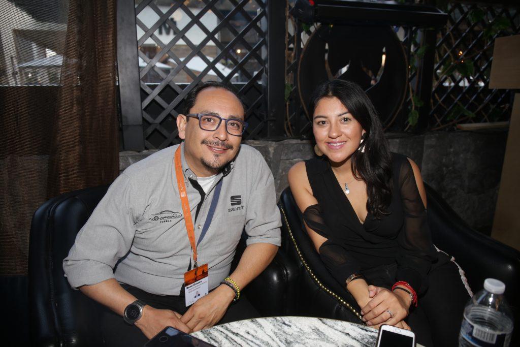 René Orozco y Laura Guevara