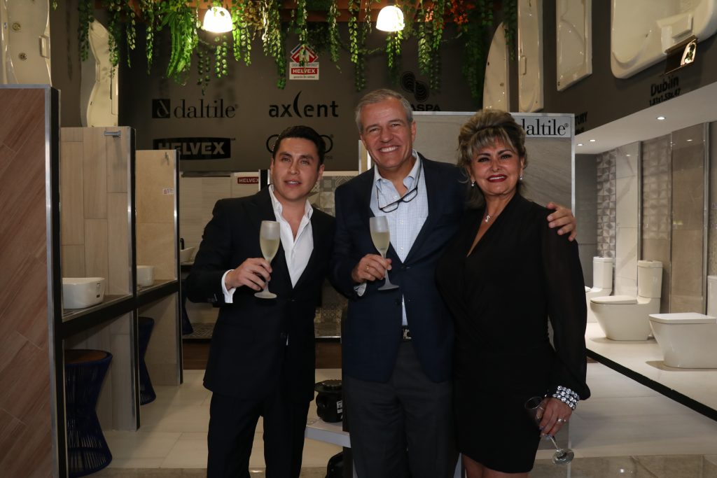 Raúl Martínez, Jorge barbará y Susana Esquivel