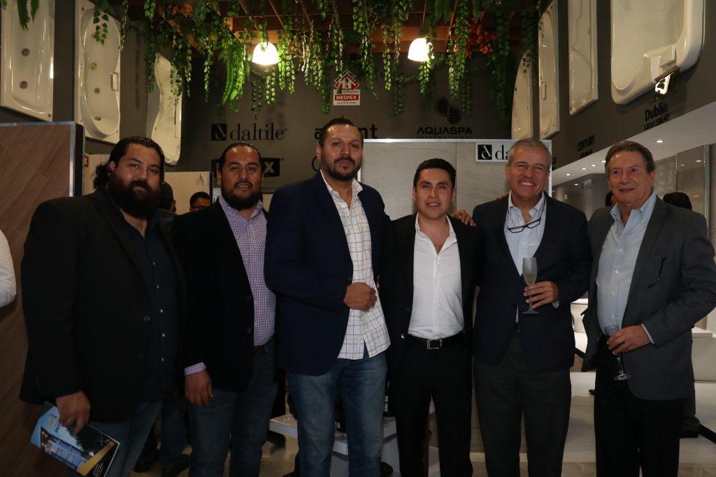 Oscar Pierre, octavo mancilla, Mario bobila, Raúl Martínez, Jorge barbará, Jorge Moreno anaya
