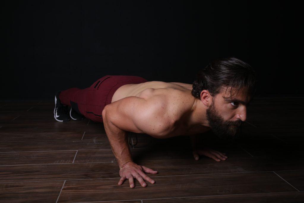 Conviene empezar por ejercicios simples y que no requieran mucho espacio