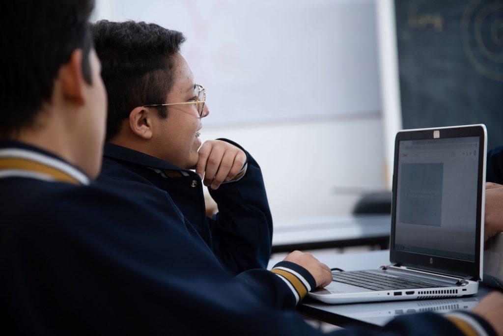 """""""Educando con calidad y calidez"""". Fotos: Cortesía."""