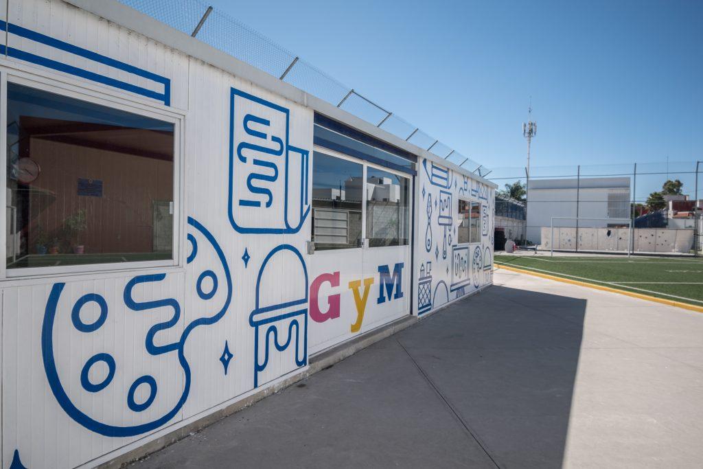 Las instalaciones del Instituto Santander. Fotos: Cortesía.