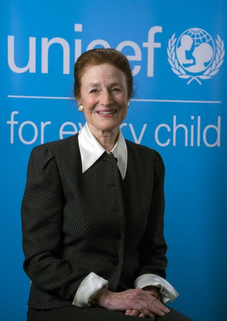 La directora ejecutiva de Unicef, Henrietta Fore. Foto: Especial.