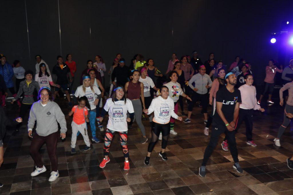 Pachuca, Hidalgo, México 27 Febrero 2020.- Participantes del Back to the 80's, que organizado por  Exatec. Oscar Bolaños