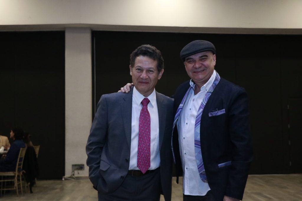 Francisco Ferreira y Jorge Oropeza. Fotos: Omar Rodríguez