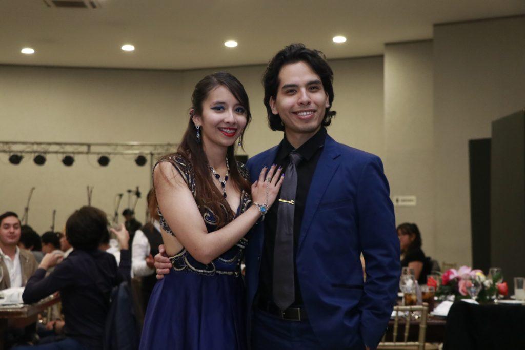 Andrea Vega y Arturo Moctezuma. Fotos: Omar Rodríguez