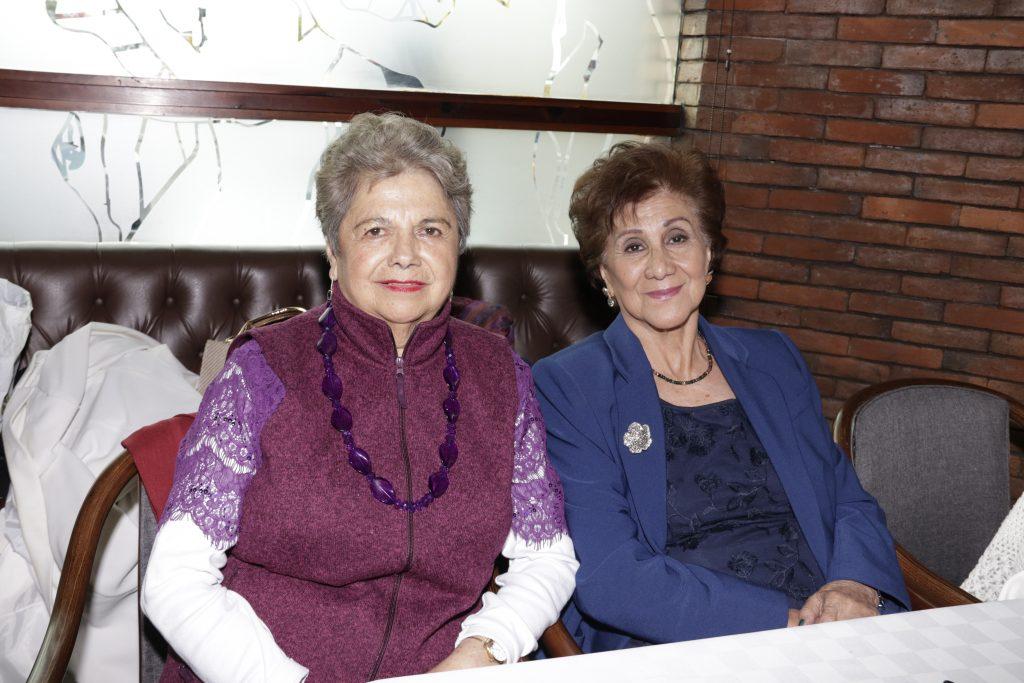 Estela Vite y Efigenia Barranco. Fotos: Guillermo Pérez