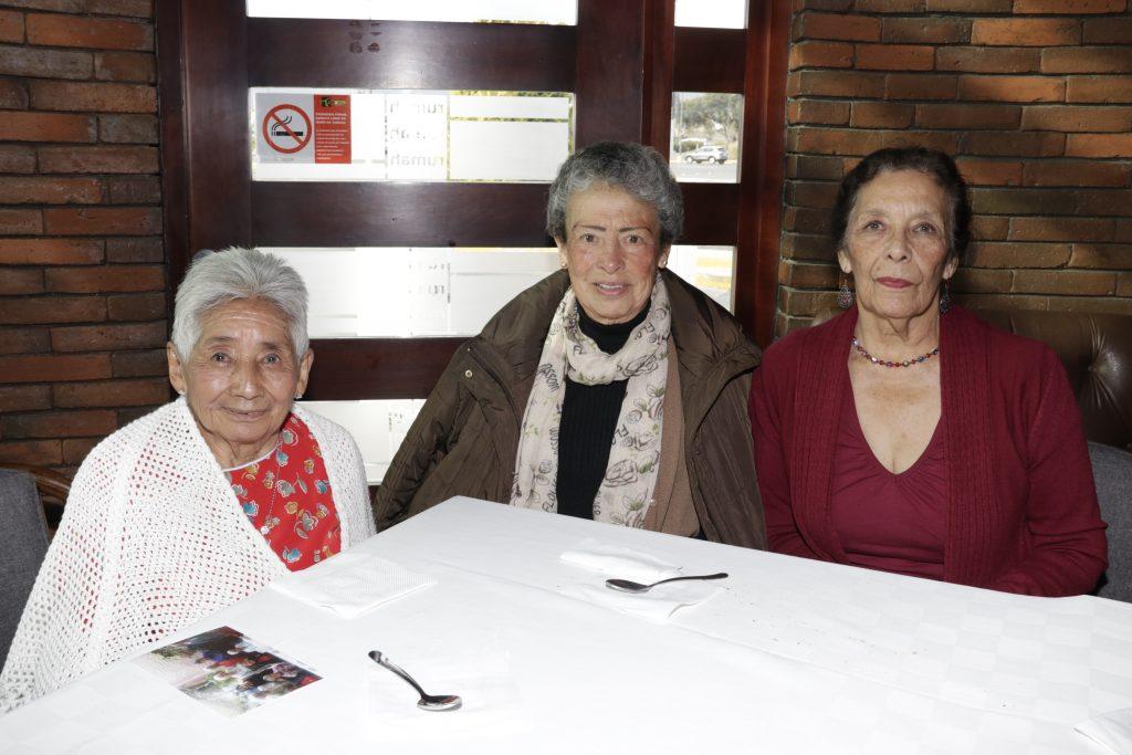 Lilia Gutiérrez ,María Eugenia Meléndez y María Isabel Fernández. Fotos: Guillermo Pérez