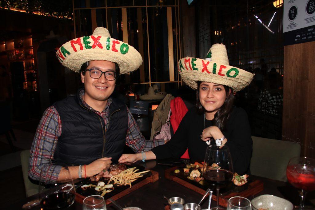 Sandra Gómez y Octavio de la Torre. Fotos: Antonio Aparicio