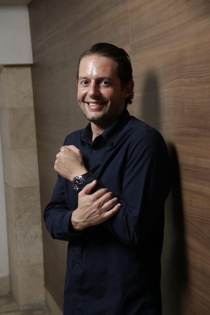 Fundador y CEO de AZÚCAR (RECIÉN HORNEADO). Fotos: Guillermo Pérez