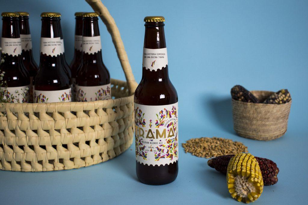 """Trama nace en el 2016 del gusto y la pasión por la cerveza artesanal, una cerveza de """"amigos"""" que se comenzó a comercializar en la ciudad de Puebla a finales del 2018. Fotos: Especiales"""