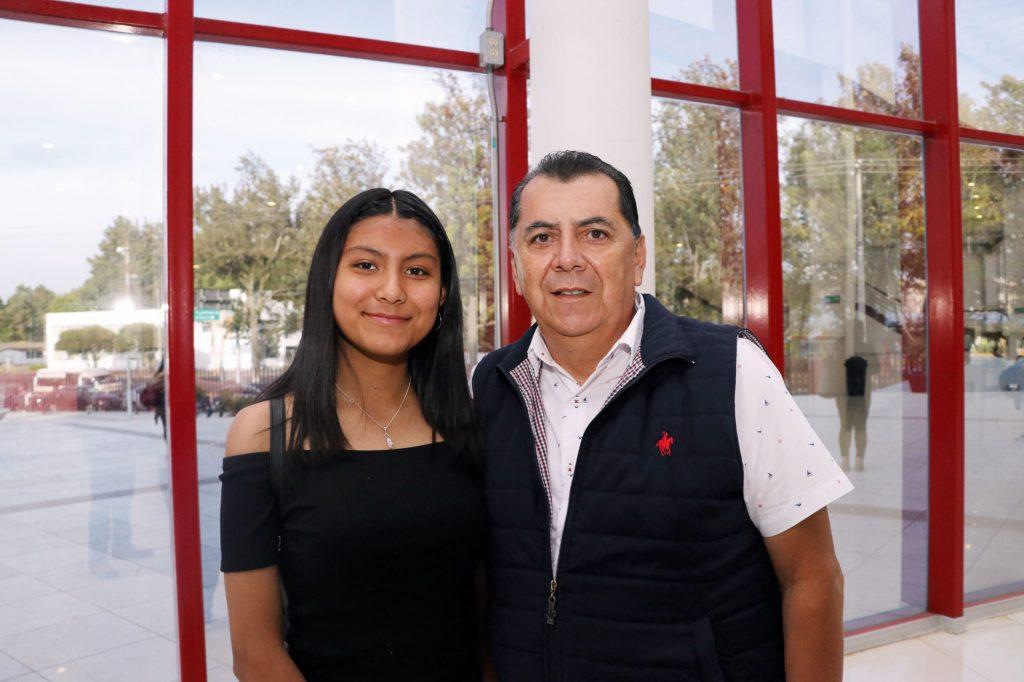 Jimena y Miguel Ángel. FOTOS: ABRAHAM CABALLERO