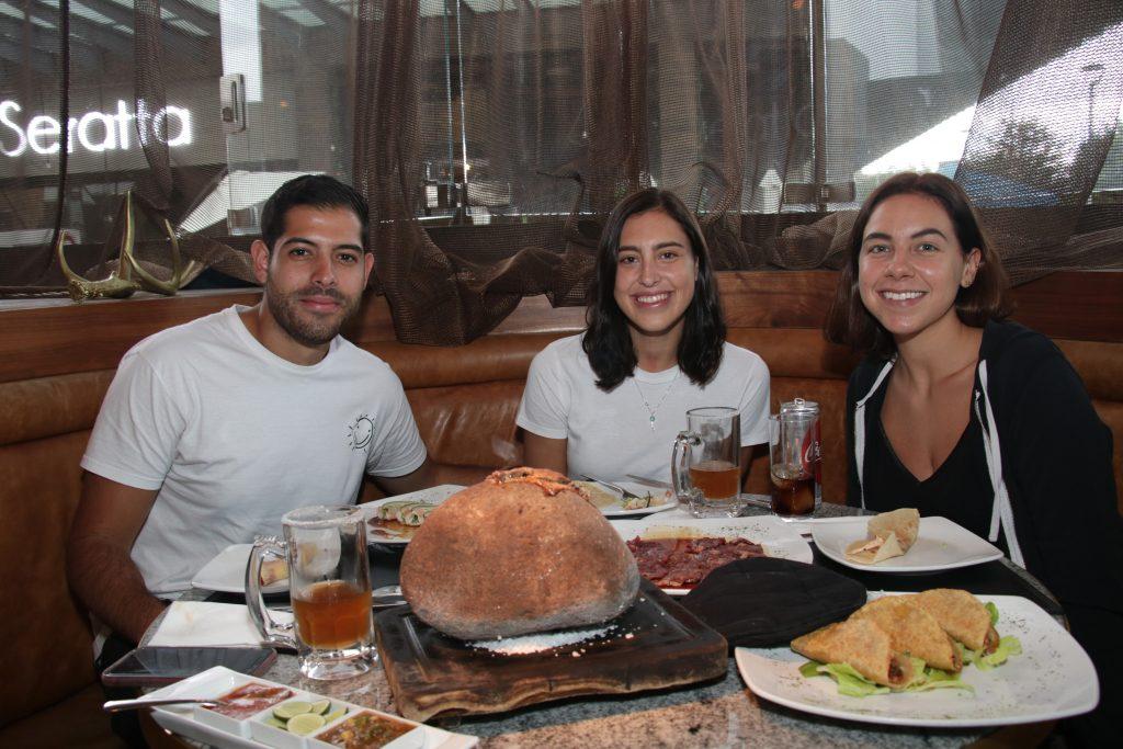 Alfredo Laboriel, Paloma Fernández y María Poo. Fotos: Daniela Portillo / Antonio Aparicio