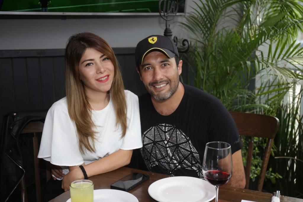 Sulce Alvaro y Pablo Aguilar. Fotos: Daniela Portillo