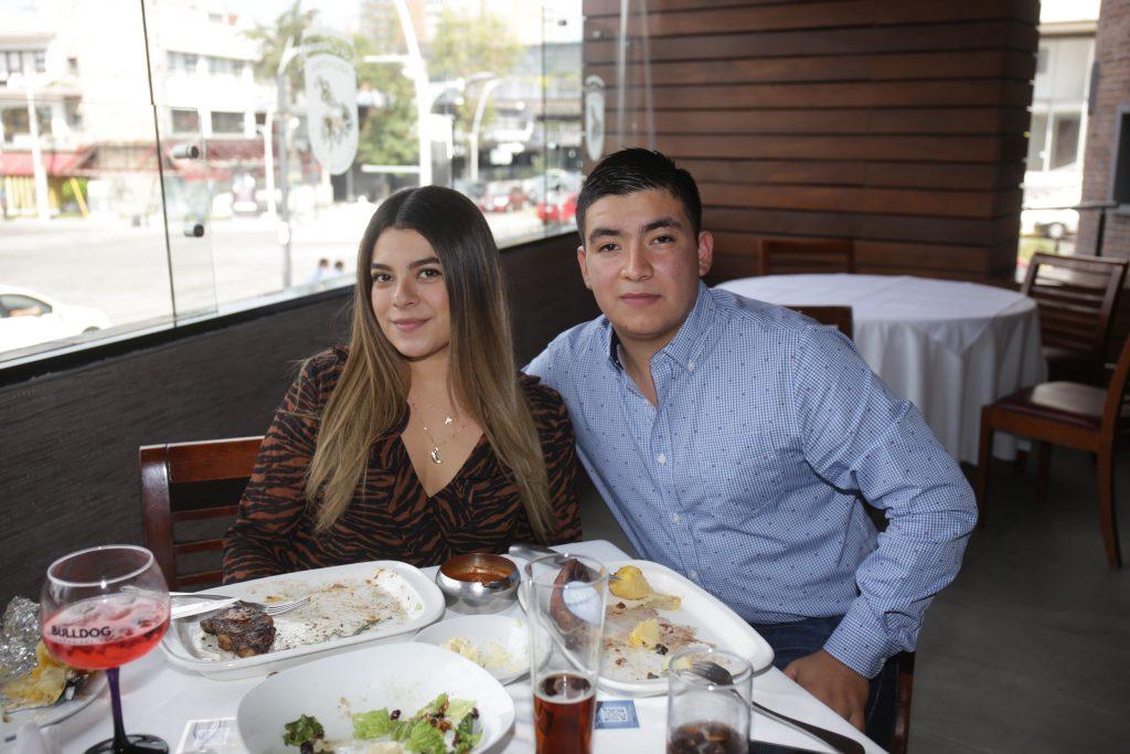 Reyna Chavarria y Miguel Vasquez. Fotos: Daniela Portillo
