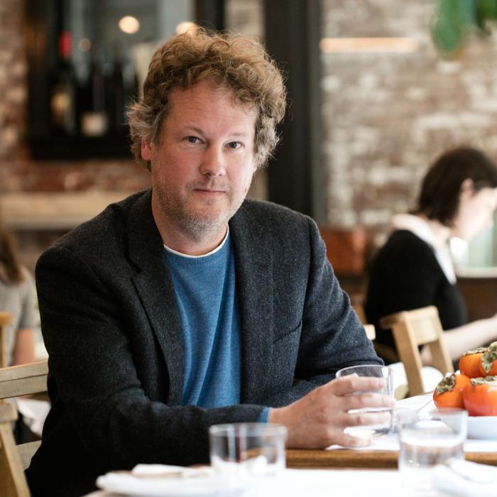 Jeff Gordinier, jefe de Gastronomía de la revista Esquire. Fotos: Especial
