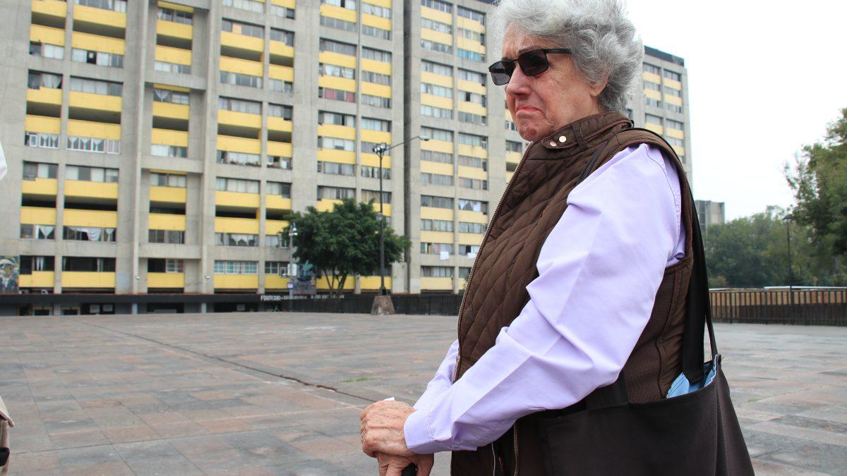 Myrthokelia González l Integrante del Colectivo Memoria