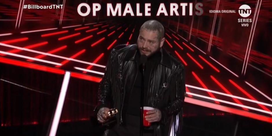 Post Malone, el Mejor Artista del Año en los Billboard Music Awards