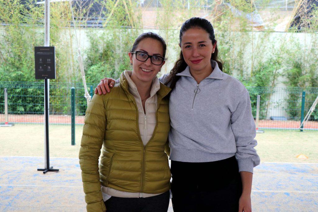Michelle Martínez y Socorro Fayad. Fotos: Damián Vera