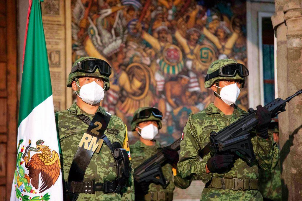 Elementos de la 23 Zona Militar. FOTOS: ESPECIAL/ ROSTROS