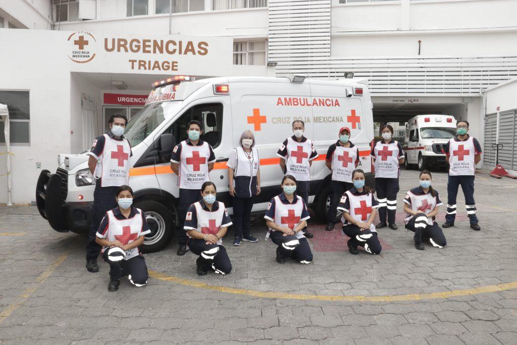 Hospital Cruz Roja Ciudad de Puebla. Fotos: Especiales