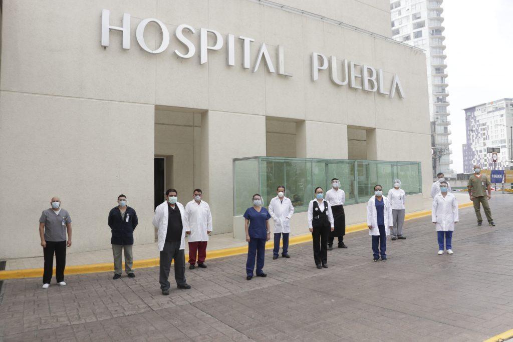 Hospital Puebla. Fotos: Especiales