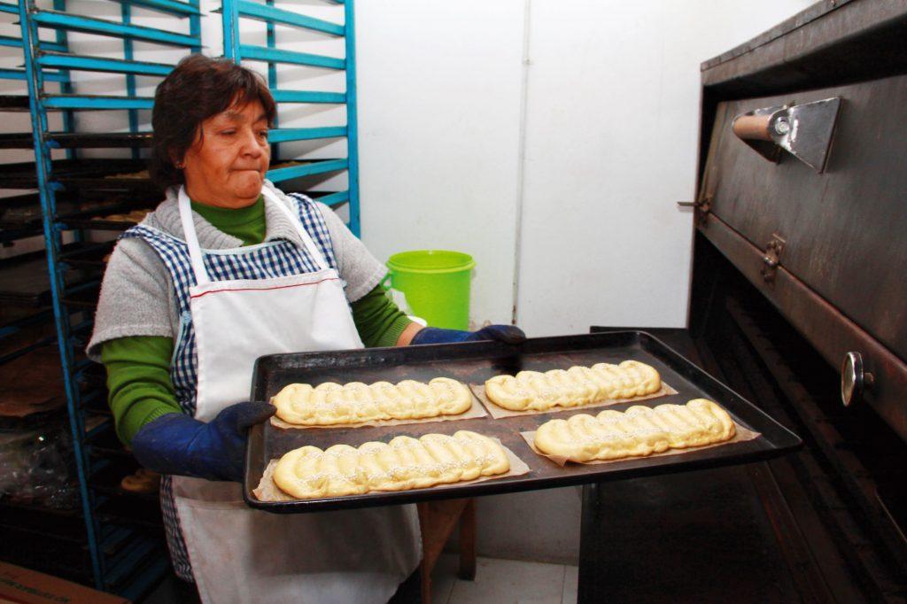 Los sabores varían, van desde los clásicos, hasta versiones de nuez y nata, los cuales tradicionalmente se hace en hornos de piedra.  FOTOS: ARCHIVO / ROSTROS