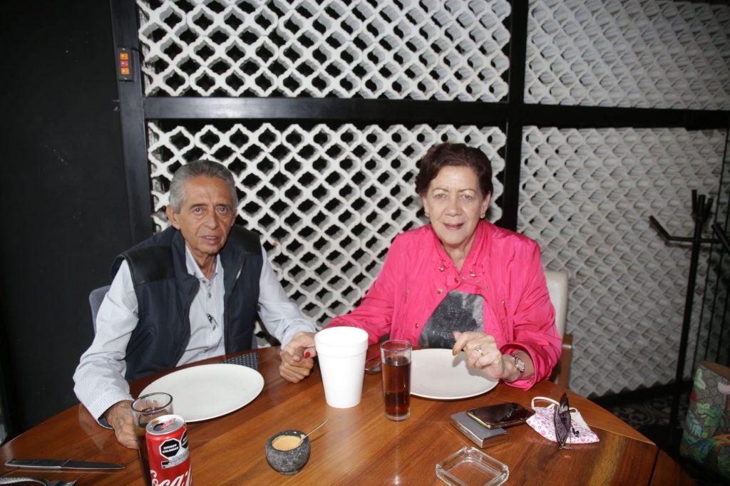 Óscar Macías y Rocío Macías. Fotos: Daniela Portillo