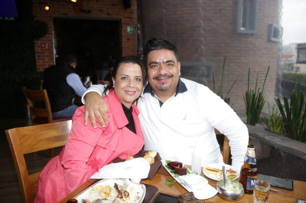 Rita y Augusto. Fotos: Daniela Portillo