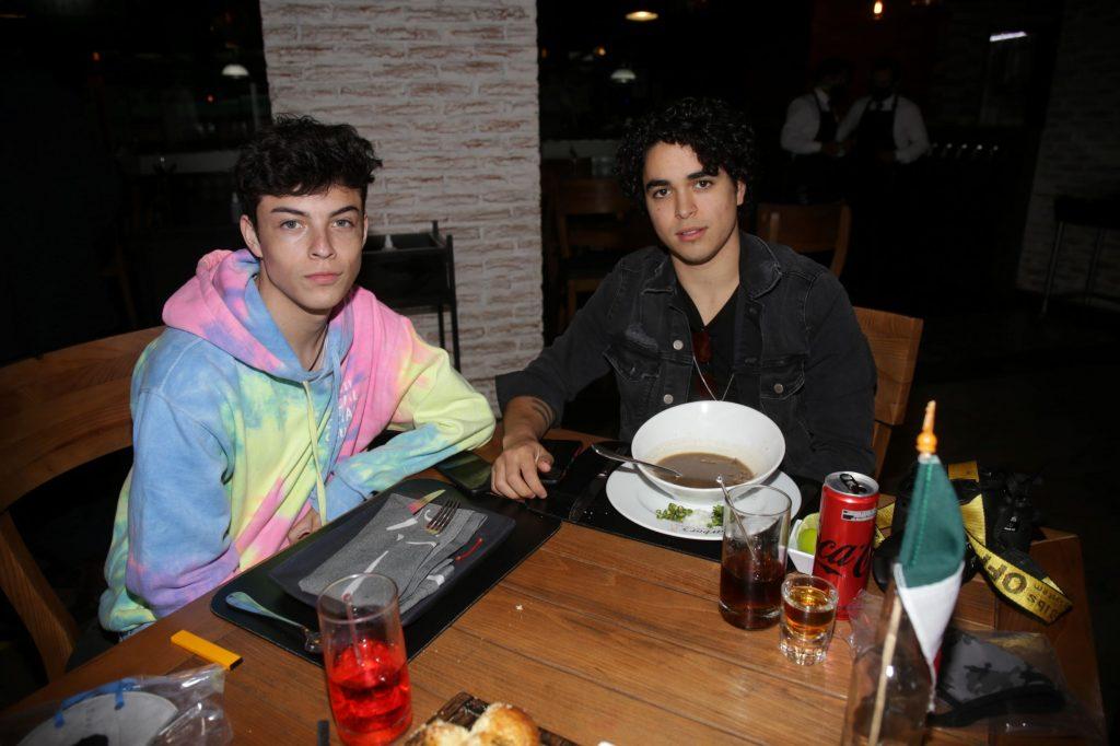 Emilio y Sebastián. Fotos: Daniela Portillo