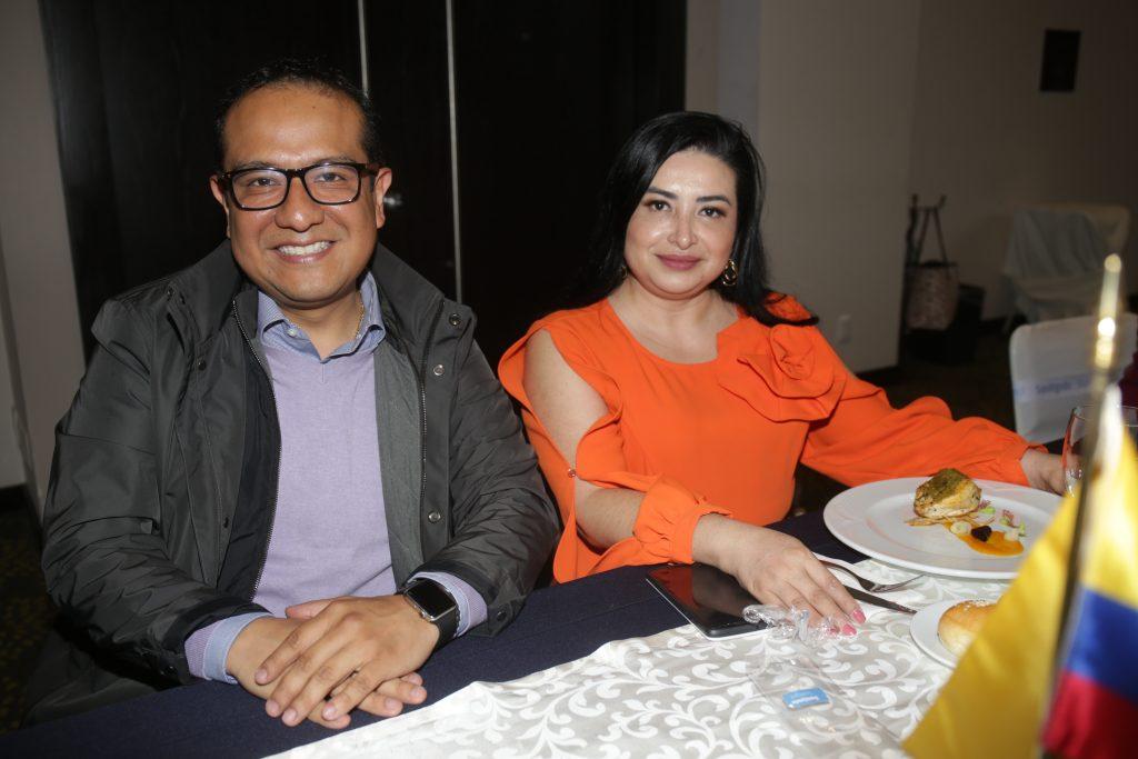 Omar Ixtlapale y Alma De Los Santos. Fotos: Daniela Portillo