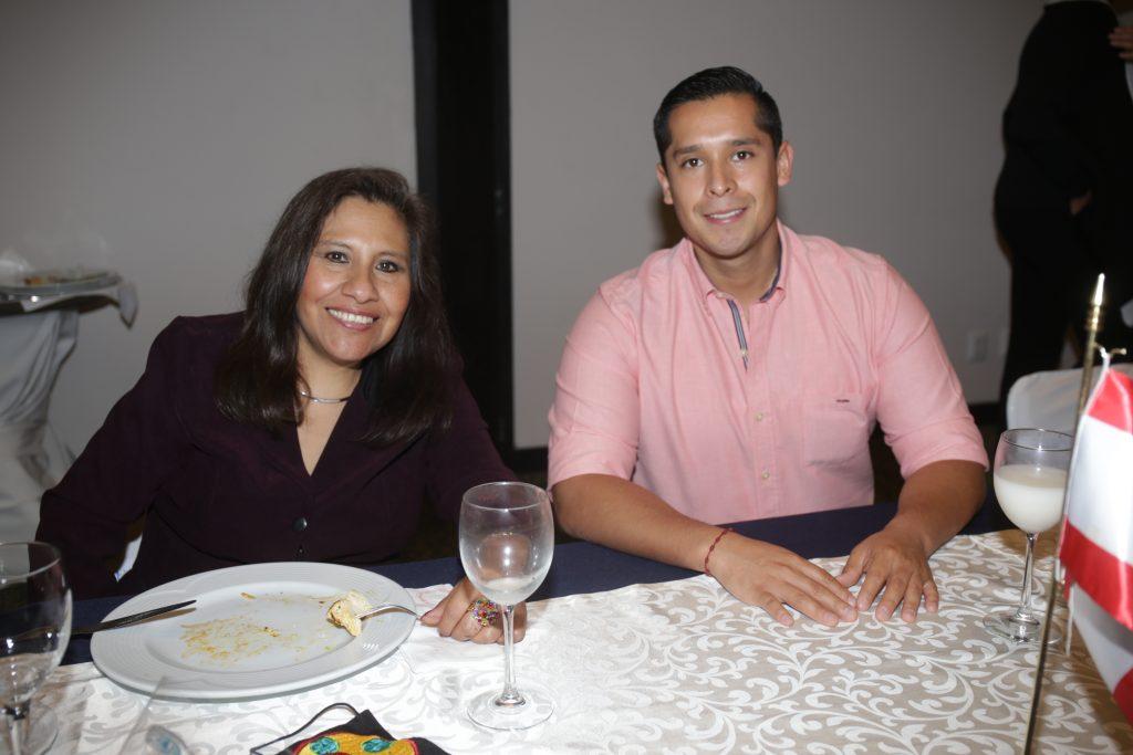 Marta Reyes y Emilio Gallardo. Fotos: Daniela Portillo