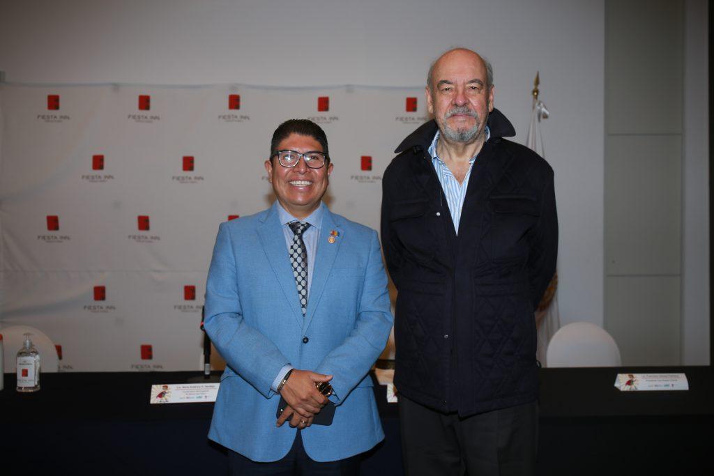 Sergio Cruz y Armando Prida. Fotos: Daniela Portillo