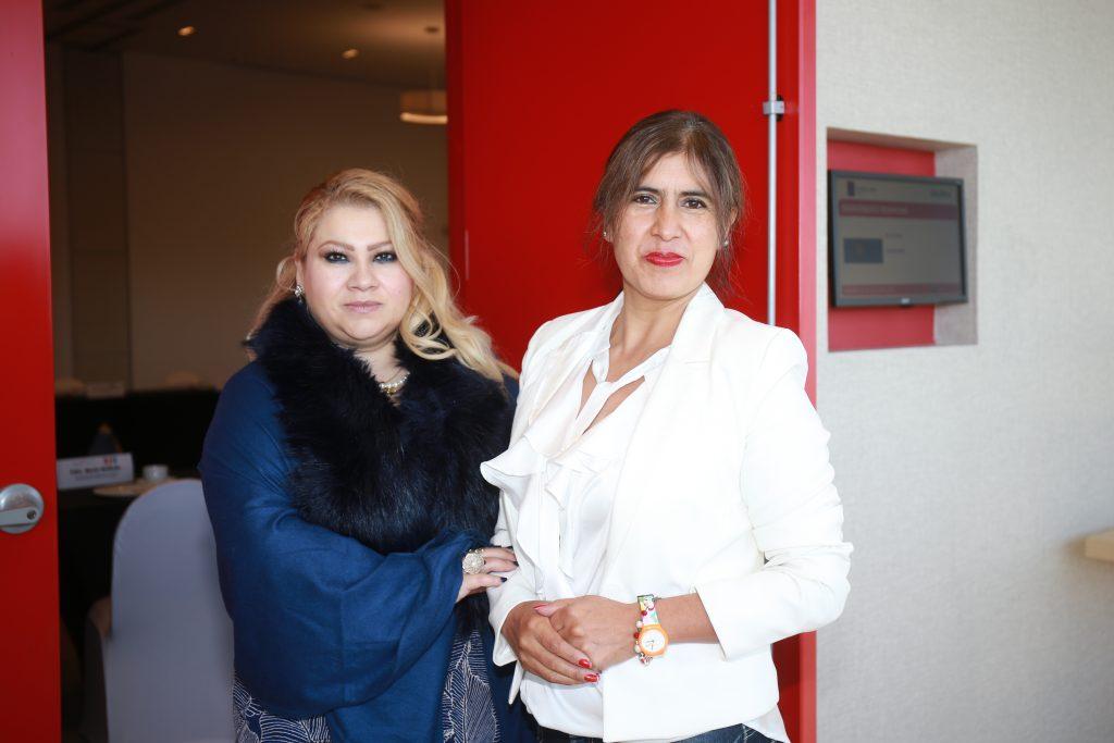 Blanca Gallo y Charo Gutiérrez. Fotos: Daniela Portillo
