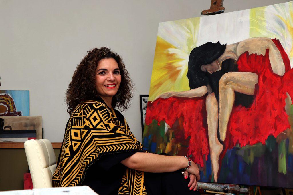 """""""Las bellas artes expresan emociones, sentidos de nuestra alma y sensibilidad"""". Fotografía: Damián Vera"""