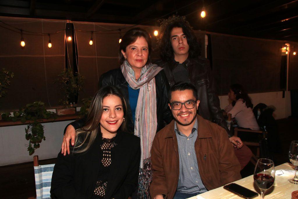 Isaura Castellanos, Abraham Rojas, Gabriela Rojas y Luis Martínez. Fotos: Antonio Aparicio