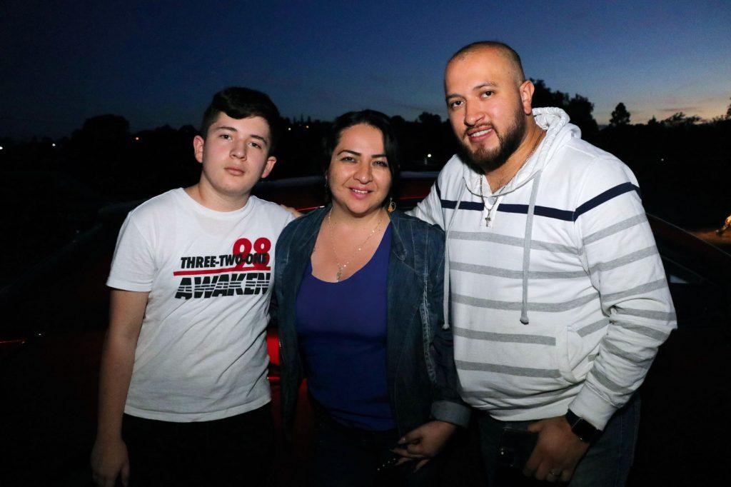 Braulio, Sully  y Eduardo. FOTOS: ABRAHAM CABALLERO