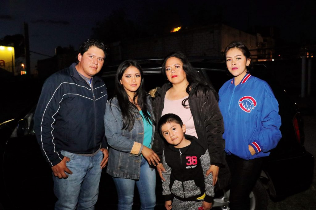 Familia Montiel Muñoz. FOTOS: ABRAHAM CABALLERO