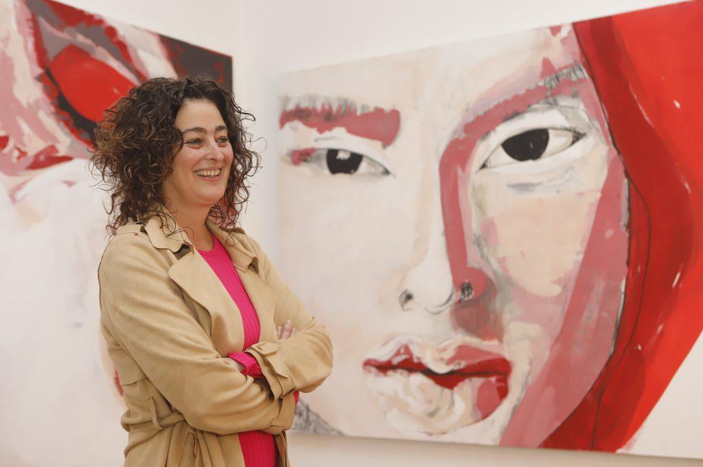 Pintora Amalia Buergo. Fotos: Imelda Medina