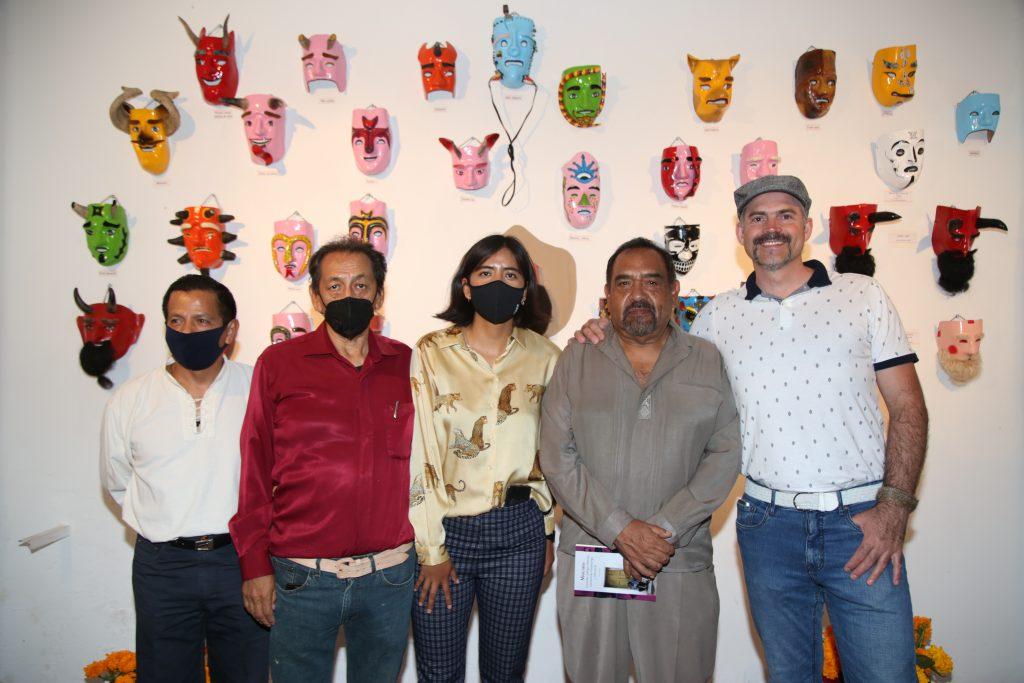 Alfonso Rodríguez, Ricardo Pérez, Violeta Soberanes, Gonzalo Fernandéz, Michel Ángelo Stefanoni. Fotos: Antonio Aparicio