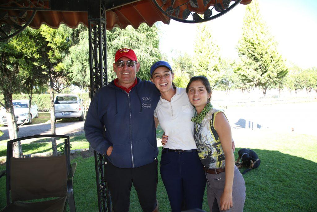Ricardo Pérez, Julieta Nuñez y Markova Lozano. Fotos: Antonio Aparicio